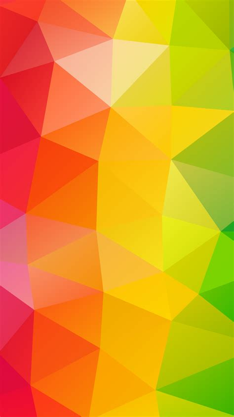 abstract wallpaper nz 2160x3840 triangles colorful background sony xperia x xz