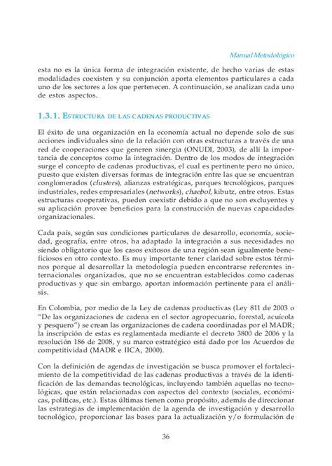 cadena productiva agroindustrial manual de cadenas productivas agroindustriales
