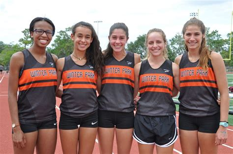 winter park high school track team chases history