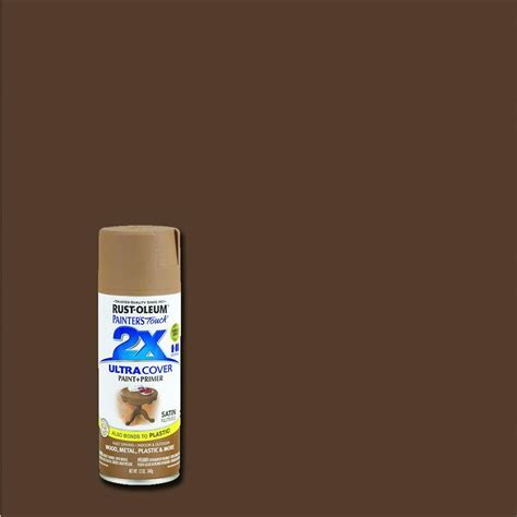 spray painter ratings rust oleum painter s touch 2x 12 oz satin nutmeg general
