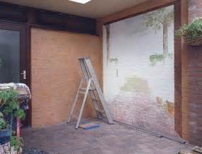 outside brick wall designs amazing painting ideas for brick walls creating optical