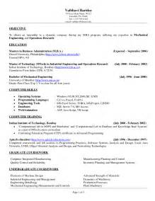 Industrial Engineering Resume Exles by Doc 618800 Cover Letter Sle Industrial Engineer Resume Sle Resume For Bizdoska