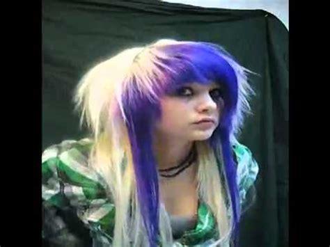 emo haircuts youtube how to do emo scene hair youtube