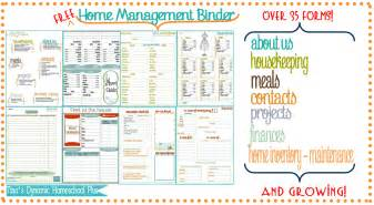 home management binder templates free free printable family planner calendar template 2016