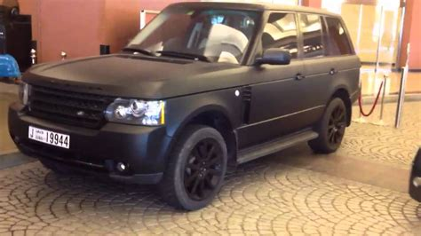 mercedes land rover matte black matte black range rover youtube