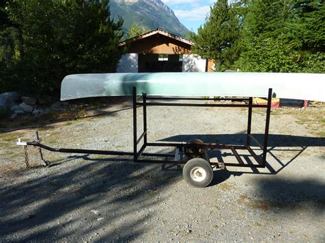 canoes trailers canoe trailer iron mountain works