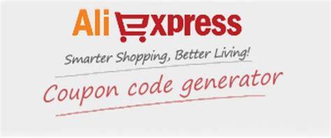 aliexpress coupon code generator discount up to