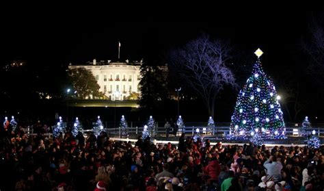 national christmas tree lighting ceremony michelle obama