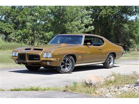 1971 Pontiac For Sale by 1971 Pontiac Gto The Judge For Sale Classiccars