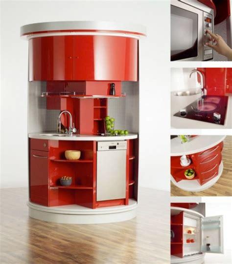 cucine compact cucina circolare per piccoli spazi ideare casa