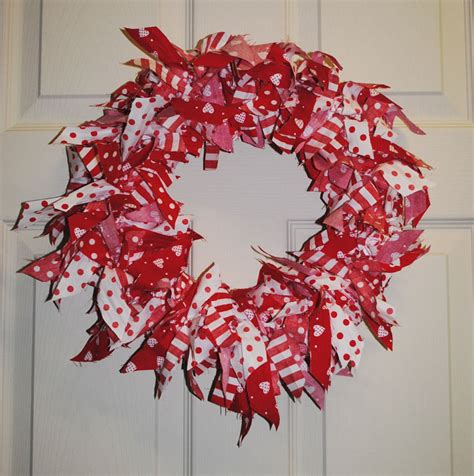 rag wreath countryheartandhome rag wreath tutorial