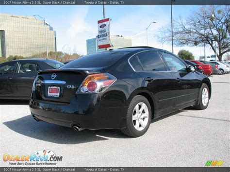 nissan altima black 2007 2007 nissan altima 2 5 sl black charcoal photo 6