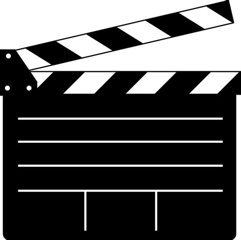 How To Make A Paper Clapper - clapper board vector for or free vector