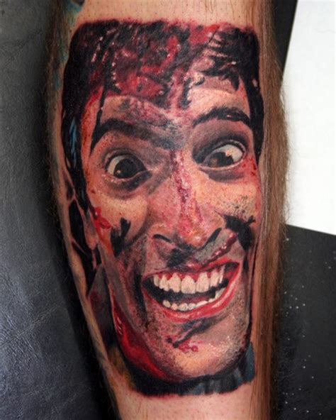 evil dead tattoo quint and bruce cbell talk about the secret to