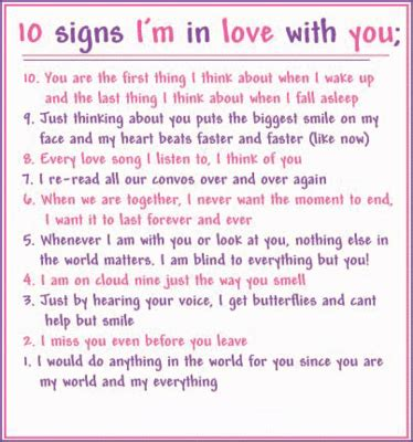 10 Signs Your Crush Likes You by 10 Signs I M In With You Myniceprofile
