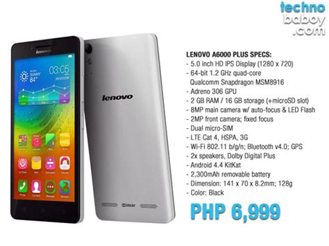 Lenovo A60000 lenovo launches a6000 plus with 5 0 quot display and dolby