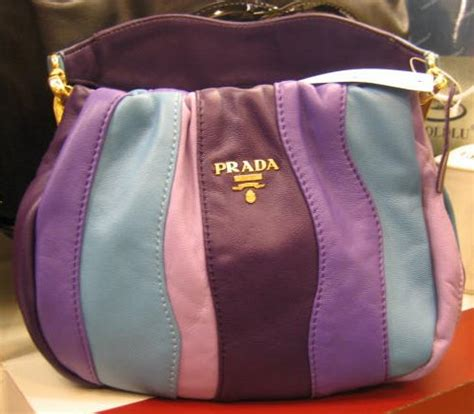 Prada Nappa Stripes Multicolor Tote by Prada Multicolor Prada Bags And Purses
