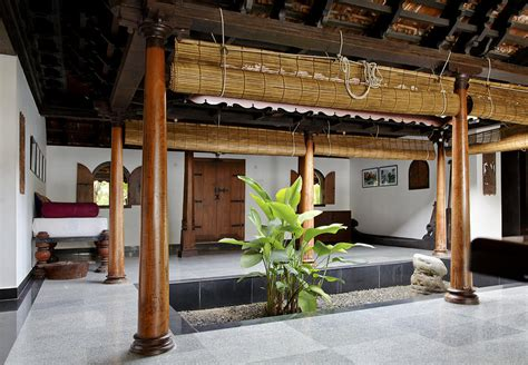 home design for village in india interior design of daylight courtyard in kerala b
