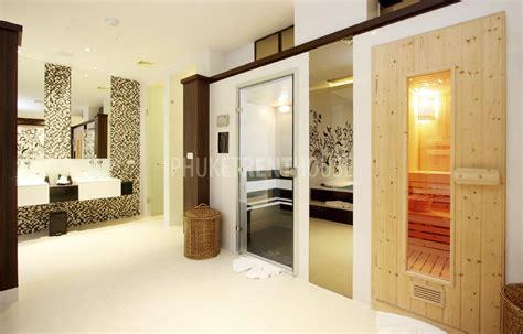 sauna in bedroom royal jacuzzi penthouse 3 bedroom at m 246 venpick resort