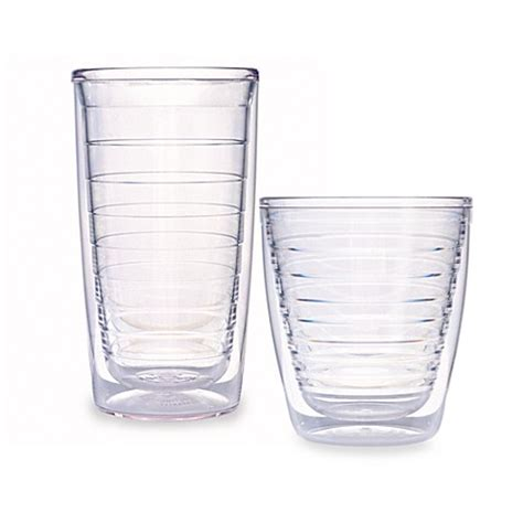 bed bath and beyond tumblers tervis 174 tumbler clear tumblers bed bath beyond