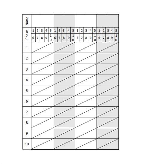 printable phase 10 dice score sheet sle phase 10 score sheet template resume template sle
