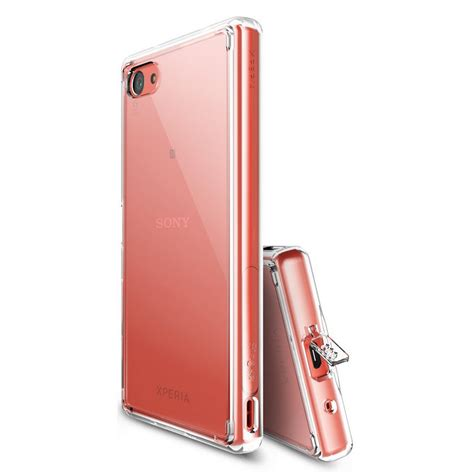 Rearth Ringke Sony Xperia Z5 Fusion Xperia Z5 Smoke Bla Berkualitas rearth ringke fusion cristal para sony xperia z5 compact