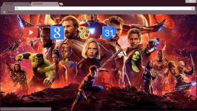 chrome theme avengers avengers chrome themes themebeta