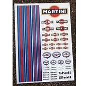 RC Martini Sticker Aufkleber Deko Mardave Kyosho Tamiya HPI