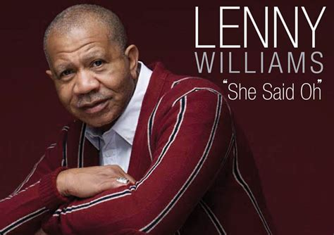 singers the legendary pop crooners books legendary soul crooner lenny williams new single she said