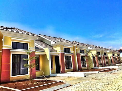 rumah dijual booking  juta bisa punya rumah panorama bali residence type