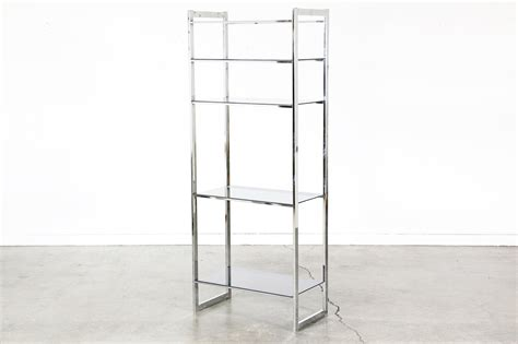 etagere retro vintage chrome etagere shelf unit vintage supply store