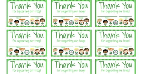 scout thank you cards template my fashionable designs scouts free printable thank