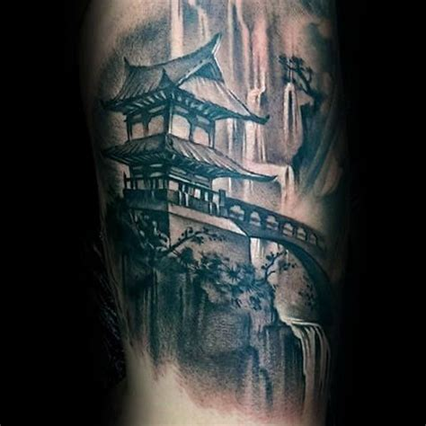 chinese temple tattoo designs 50 japanese temple designs for buddhist ink