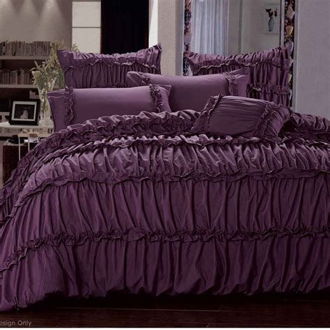 purple bed 17 best ideas about purple bedding sets on pinterest