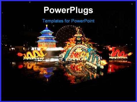 Chinese Festival On The Waterfront In Toronto Powerpoint Festive Powerpoint Templates