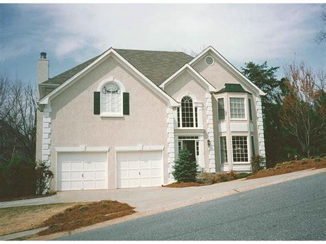 Second Floor Deck Plans devonshire trail modern home plan 053d 0026 house plans