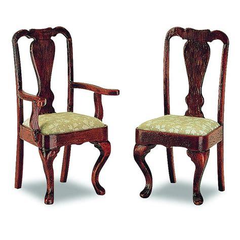 queen anne armchair queen anne armchair 2 pieces 40078
