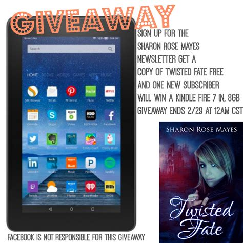 Giveaway Sign Up - sign up for my newsletter kindle fire giveaway giveaway kindle