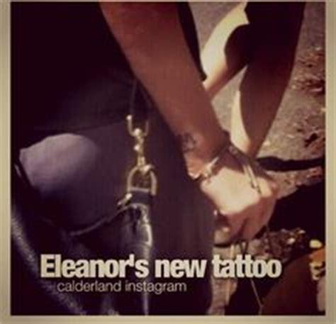 elephant tattoo eleanor calder el s new tattoo is an elephant