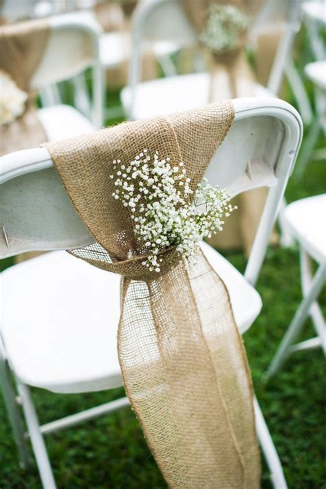 Wedding Ceremony Chair Decorations by Best 25 Wedding Chair Decorations Ideas On