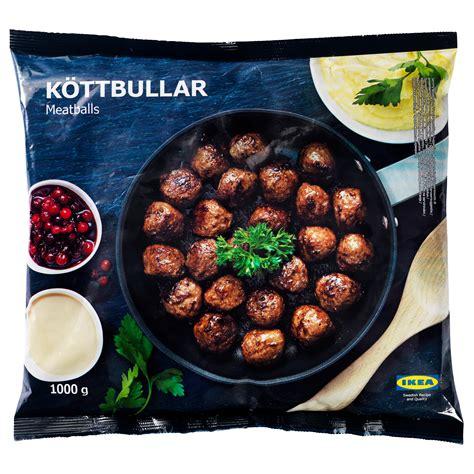 Ikea Meatballs k 214 ttbullar meatballs frozen ikea