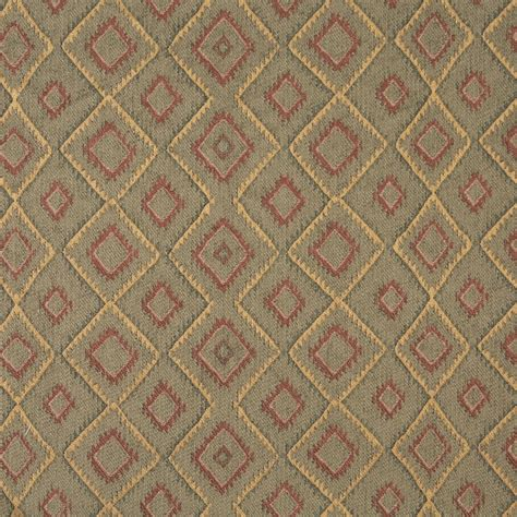 southwest upholstery burgundy gold and green diamond southwest upholstery