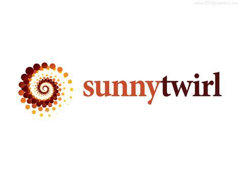 twirl logo template psd and ai psdgraphics
