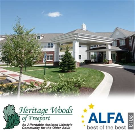 heritage woods of freeport care home nursing homes