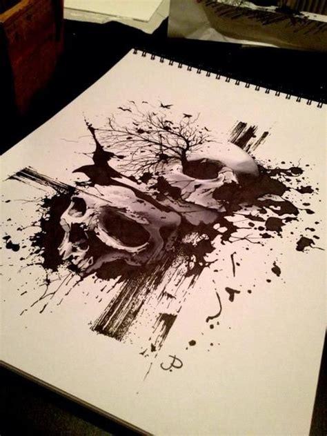 sick skull tattoos sick design tattoos ink designs
