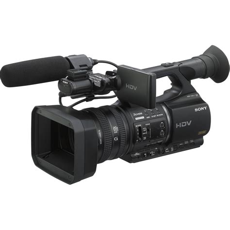 camara digital de video sony hvr z5u professional hdv camcorder hvr z5u b h photo