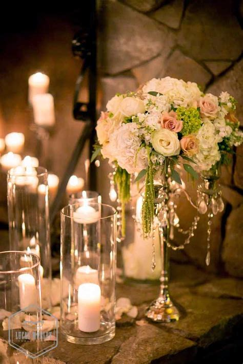 Candle Decorations For Wedding Ceremony by A Wedding In White And Green At Delille Cellars