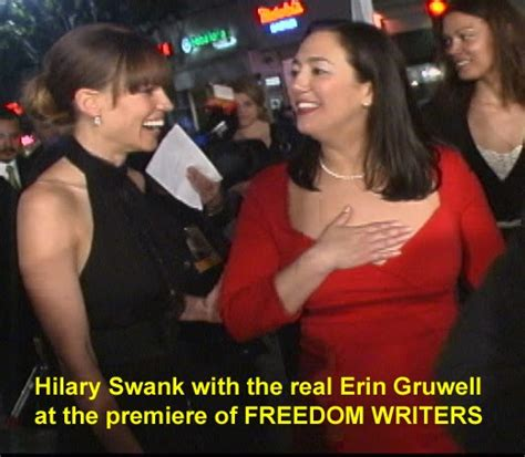 Hilary Swank Hangin W Kitties by Crime Guns And Videotape Freedom Writers Exposethe