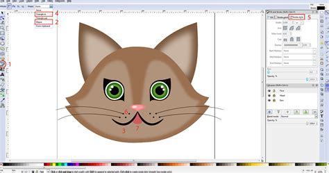 inkscape tutorial cartoon tutorial vector graphics with inkscape