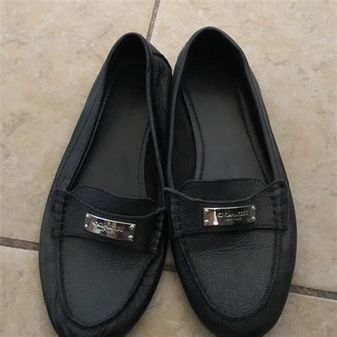 coach new york shoes 69 coach shoes coach new york black flats loafers